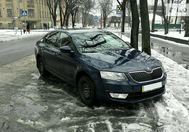 Синий Шкода Октавия, объемом двигателя 1.4 л и пробегом 71 тыс. км за 15700 $, фото 1 на Automoto.ua