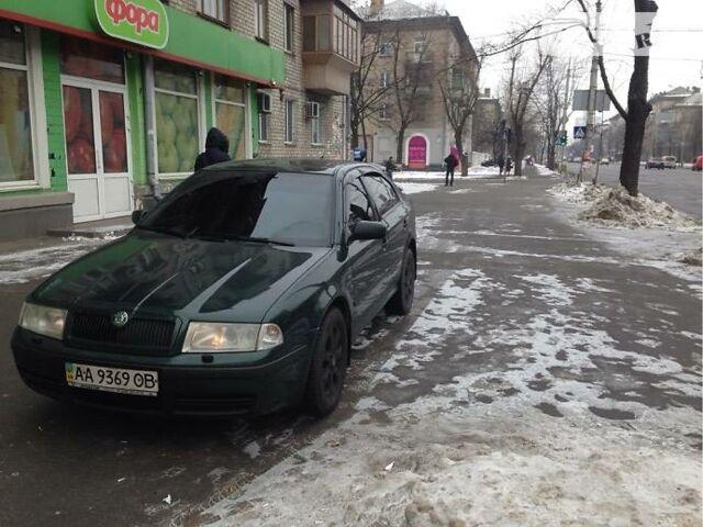 Зелений Шкода Октавія, об'ємом двигуна 1.8 л та пробігом 440 тис. км за 6400 $, фото 1 на Automoto.ua