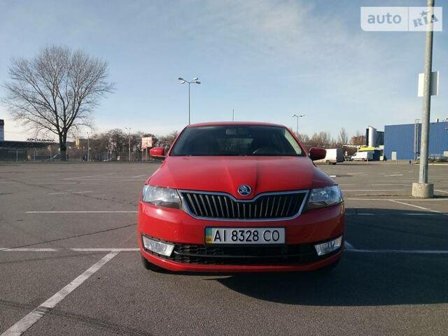 Красный Шкода Спейсбек, объемом двигателя 1.6 л и пробегом 57 тыс. км за 11400 $, фото 1 на Automoto.ua