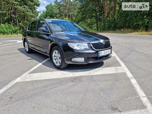 Черный Шкода Суперб, объемом двигателя 1.8 л и пробегом 185 тыс. км за 8900 $, фото 1 на Automoto.ua
