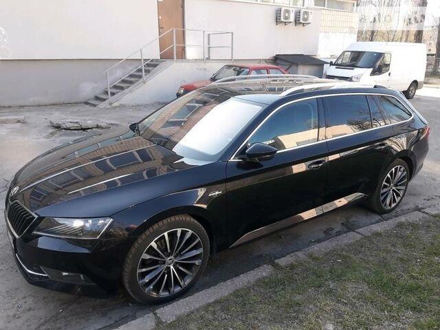 Черный Шкода Суперб, объемом двигателя 2 л и пробегом 225 тыс. км за 22800 $, фото 1 на Automoto.ua