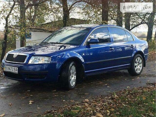 Синий Шкода Суперб, объемом двигателя 2.5 л и пробегом 300 тыс. км за 7500 $, фото 1 на Automoto.ua