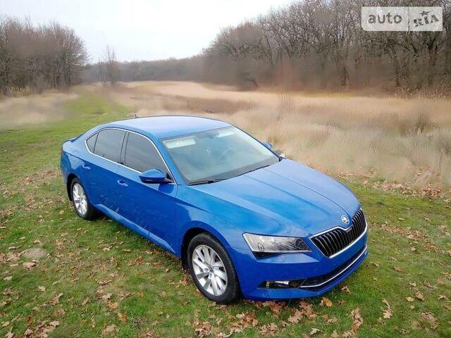 Синий Шкода Суперб, объемом двигателя 1.8 л и пробегом 34 тыс. км за 32000 $, фото 1 на Automoto.ua