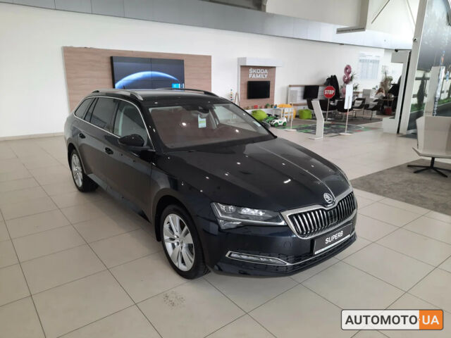 купить новое авто Шкода SuperB Combi 2020 года от официального дилера Альянс-ИФ ŠKODA Шкода фото