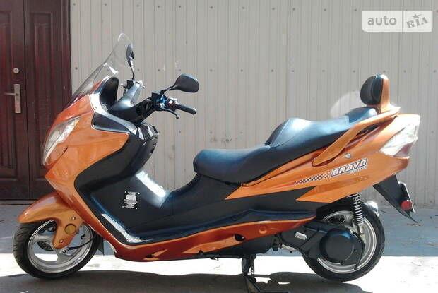 СкайМото Браво, об'ємом двигуна 0.26 л та пробігом 1 тис. км за 2473 $, фото 1 на Automoto.ua