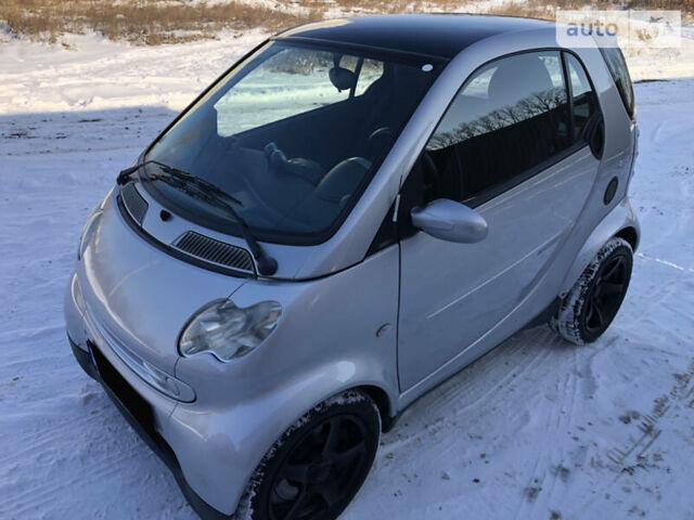 Сірий Смарт Fortwo, об'ємом двигуна 0.6 л та пробігом 119 тис. км за 4500 $, фото 1 на Automoto.ua