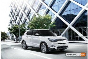 Cанг Йонг XLV, объемом двигателя 1.6 л и пробегом 0 тыс. км за 26619 $, фото 1 на Automoto.ua