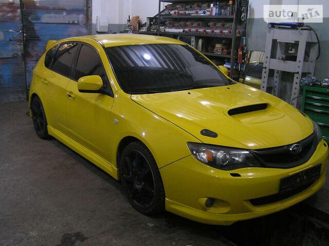 Желтый Субару Импреза  ВРХ СТИ, объемом двигателя 2 л и пробегом 80 тыс. км за 0 $, фото 1 на Automoto.ua