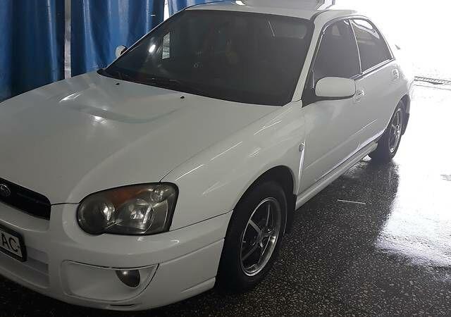 Білий Субару Імпреза, об'ємом двигуна 1.6 л та пробігом 179 тис. км за 5000 $, фото 1 на Automoto.ua
