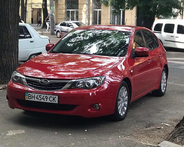 Красный Субару Импреза, объемом двигателя 2 л и пробегом 110 тыс. км за 7000 $, фото 1 на Automoto.ua