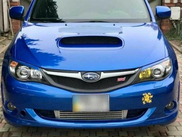 Синий Субару Импреза, объемом двигателя 2.5 л и пробегом 97 тыс. км за 8000 $, фото 1 на Automoto.ua