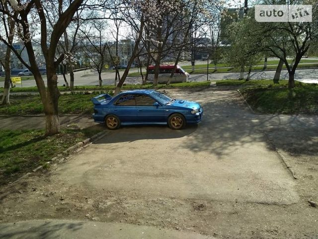 Синий Субару Импреза, объемом двигателя 2 л и пробегом 279 тыс. км за 8150 $, фото 1 на Automoto.ua