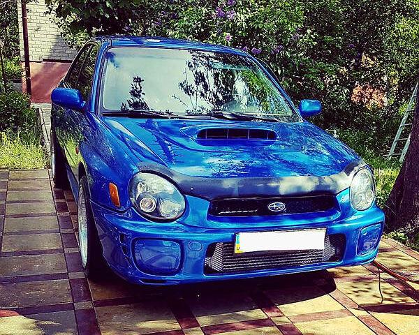 Синий Субару Импреза, объемом двигателя 2 л и пробегом 2 тыс. км за 33000 $, фото 1 на Automoto.ua