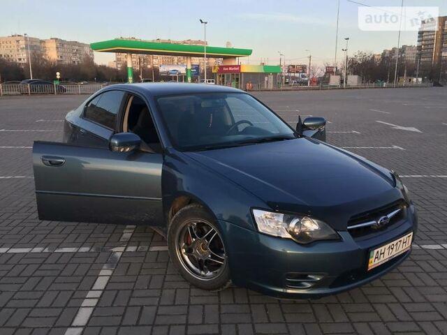 Синий Субару Легаси, объемом двигателя 2 л и пробегом 202 тыс. км за 7000 $, фото 1 на Automoto.ua