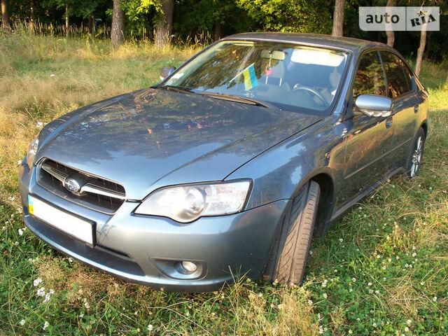 Синій Субару Легасі, об'ємом двигуна 2 л та пробігом 300 тис. км за 7000 $, фото 1 на Automoto.ua