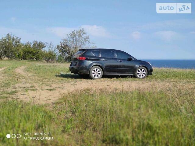 Черный Субару Трибека, объемом двигателя 3 л и пробегом 180 тыс. км за 8900 $, фото 1 на Automoto.ua
