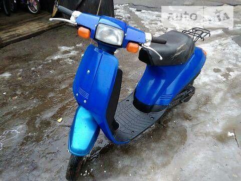 Синий Сузуки 50, объемом двигателя 0.05 л и пробегом 10 тыс. км за 157 $, фото 1 на Automoto.ua