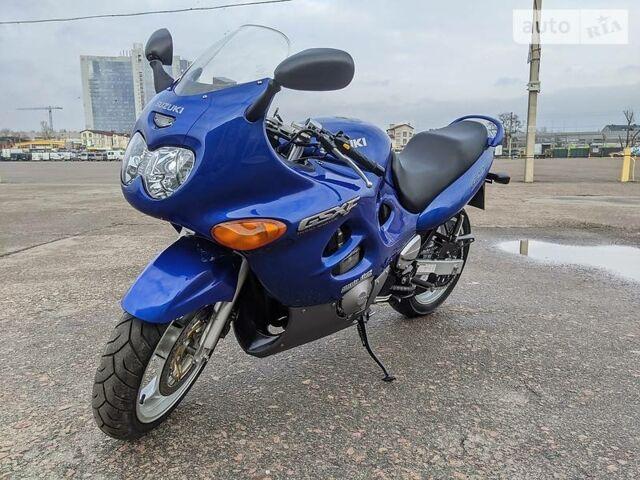 Синий Сузуки ГСХ-Ф, объемом двигателя 0.6 л и пробегом 20 тыс. км за 3299 $, фото 1 на Automoto.ua