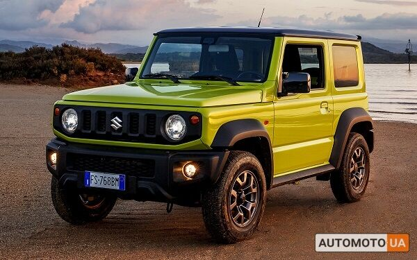 купить новое авто Сузуки Джимни 2021 года от официального дилера Техник-Центр Suzuki Сузуки фото
