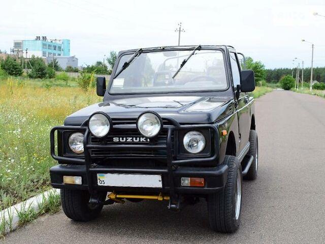 Чорний Сузукі Самурай, об'ємом двигуна 1.3 л та пробігом 242 тис. км за 4000 $, фото 1 на Automoto.ua