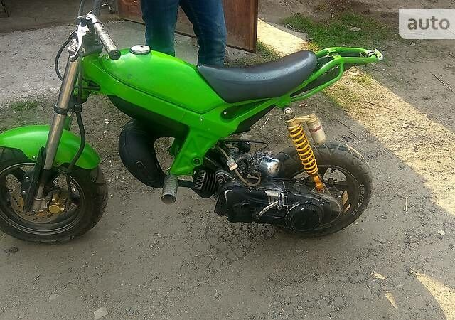 Зеленый Сузуки Стрит Мэджик 2, объемом двигателя 0.06 л и пробегом 1 тыс. км за 398 $, фото 1 на Automoto.ua