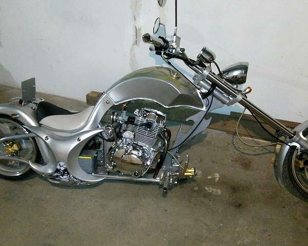 ТДМС 438 Чоппер, объемом двигателя 0.2 л и пробегом 1 тыс. км за 1500 $, фото 1 на Automoto.ua