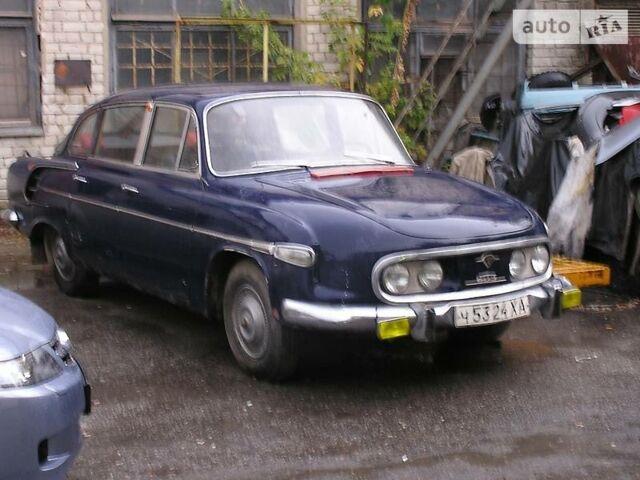 Синий Татра 603, объемом двигателя 2.4 л и пробегом 1 тыс. км за 21000 $, фото 1 на Automoto.ua