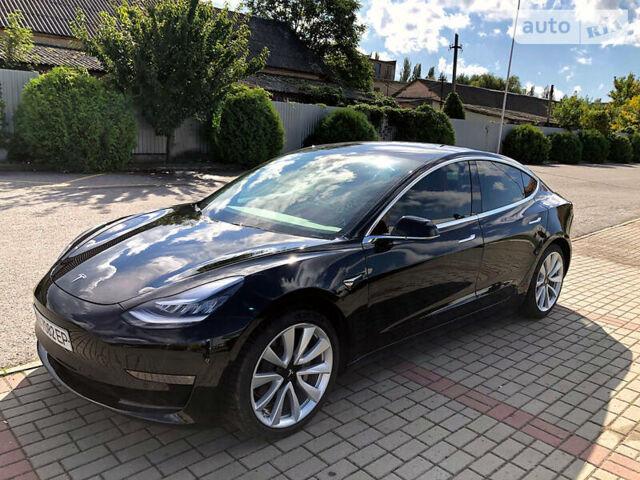Черный Тесла Модель 3, объемом двигателя 0 л и пробегом 11 тыс. км за 39900 $, фото 1 на Automoto.ua