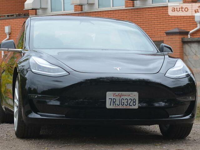 Чорний Тесла Модель 3, об'ємом двигуна 0 л та пробігом 50 тис. км за 37000 $, фото 1 на Automoto.ua