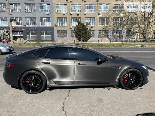 Черный Тесла Модель С, объемом двигателя 0 л и пробегом 22 тыс. км за 74000 $, фото 1 на Automoto.ua