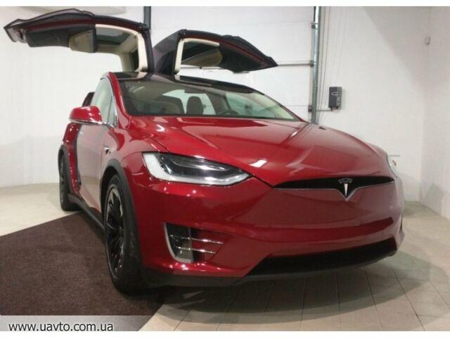 Красный Тесла Модель С, объемом двигателя 0 л и пробегом 1 тыс. км за 88851 $, фото 1 на Automoto.ua