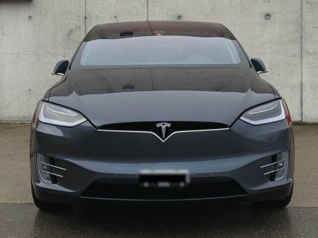 Серый Тесла Модель Х, объемом двигателя 0 л и пробегом 20 тыс. км за 34981 $, фото 1 на Automoto.ua