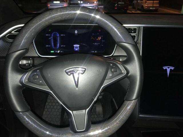 Синий Тесла Модель Х, объемом двигателя 7 л и пробегом 63 тыс. км за 49500 $, фото 1 на Automoto.ua