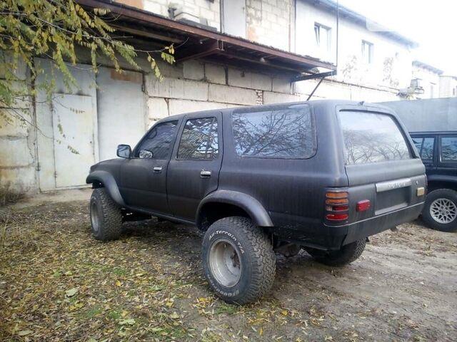 Черный Тойота 4Раннер, объемом двигателя 3 л и пробегом 10 тыс. км за 4900 $, фото 1 на Automoto.ua