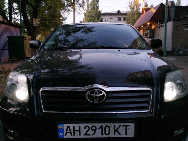 Черный Тойота Авенсис, объемом двигателя 1.6 л и пробегом 220 тыс. км за 7100 $, фото 1 на Automoto.ua