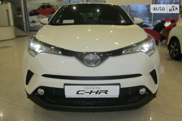 Тойота C-HR, об'ємом двигуна 1.2 л та пробігом 1 тис. км за 30448 $, фото 1 на Automoto.ua