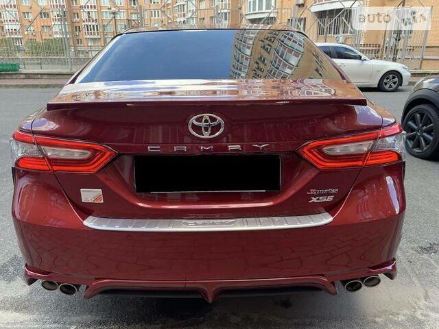 Красный Тойота Камри, объемом двигателя 2.5 л и пробегом 9 тыс. км за 25222 $, фото 1 на Automoto.ua