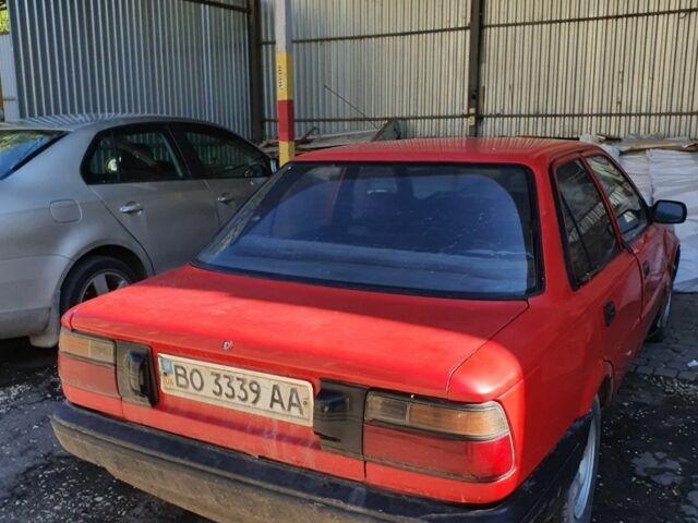 Красный Тойота Королла, объемом двигателя 1.3 л и пробегом 280 тыс. км за 700 $, фото 1 на Automoto.ua