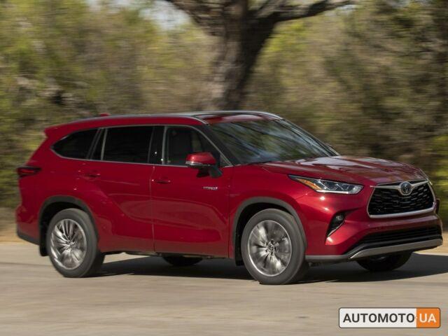 Тойота Хайлендер, объемом двигателя 3.5 л и пробегом 0 тыс. км за 49037 $, фото 1 на Automoto.ua