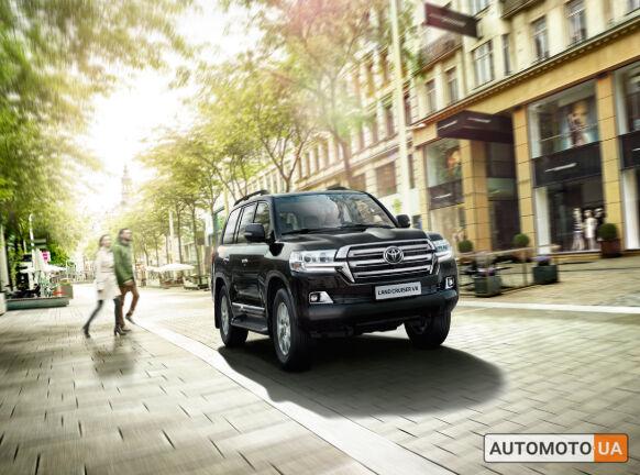 Тойота Ленд Крузер 200, объемом двигателя 4.6 л и пробегом 0 тыс. км за 61657 $, фото 1 на Automoto.ua