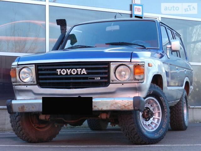 Синий Тойота Ленд Крузер 60, объемом двигателя 0 л и пробегом 250 тыс. км за 5899 $, фото 1 на Automoto.ua