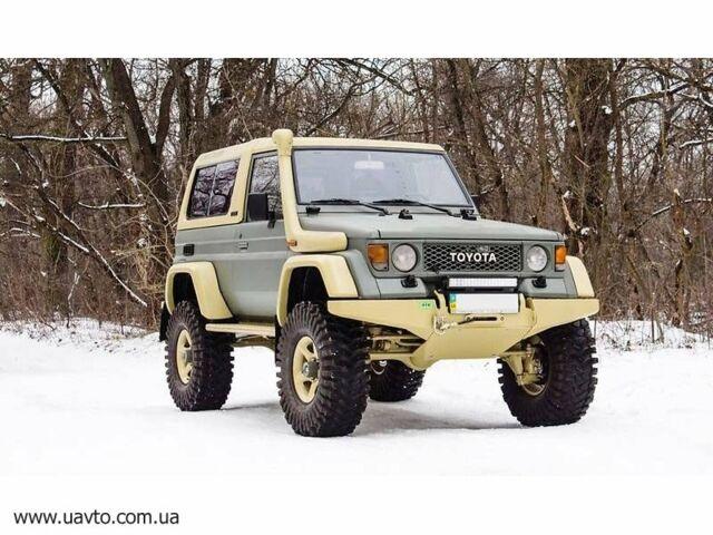 Зеленый Тойота Ленд Крузер 73, объемом двигателя 3 л и пробегом 1 тыс. км за 49851 $, фото 1 на Automoto.ua