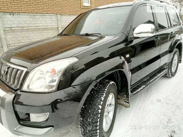 Черный Тойота Ленд Крузер Прадо, объемом двигателя 2.7 л и пробегом 181 тыс. км за 17300 $, фото 1 на Automoto.ua