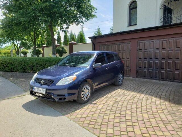 Синий Тойота Матрикс, объемом двигателя 1.8 л и пробегом 278 тыс. км за 5200 $, фото 1 на Automoto.ua