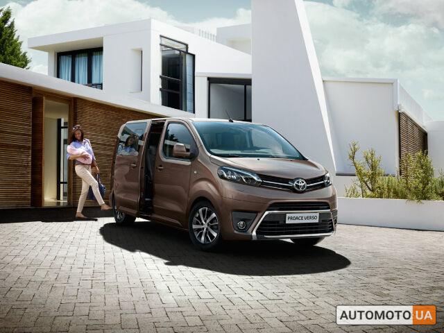 Тойота Proace Verso, объемом двигателя 2 л и пробегом 0 тыс. км за 38826 $, фото 1 на Automoto.ua