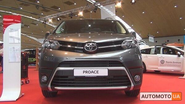 Тойота Proace Verso, объемом двигателя 2 л и пробегом 0 тыс. км за 50533 $, фото 1 на Automoto.ua