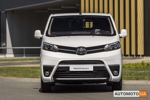 Тойота Proace, объемом двигателя 2 л и пробегом 0 тыс. км за 30555 $, фото 1 на Automoto.ua