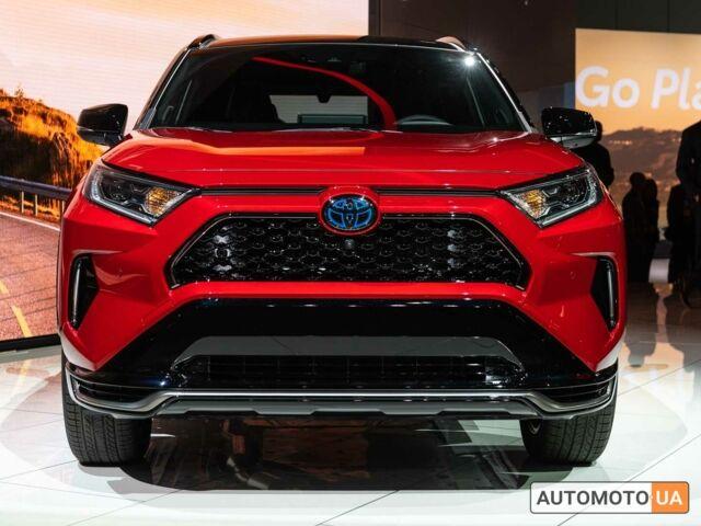 купити нове авто Тойота РАВ 4 2020 року від офіційного дилера Тойота Центр Кременчук Про Лайн Тойота фото