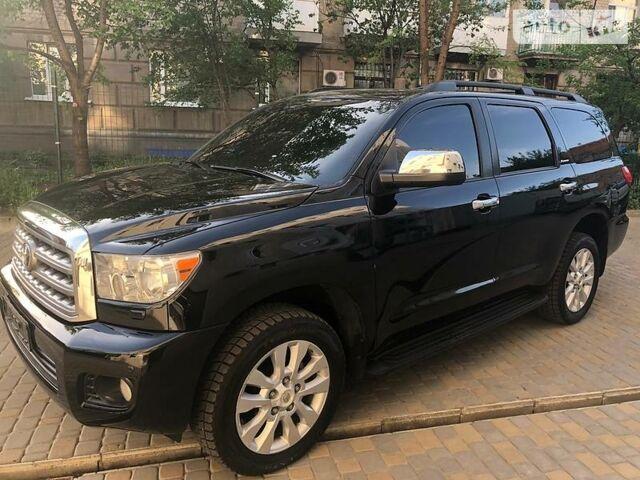 Черный Тойота Секвойя, объемом двигателя 5.7 л и пробегом 130 тыс. км за 33500 $, фото 1 на Automoto.ua