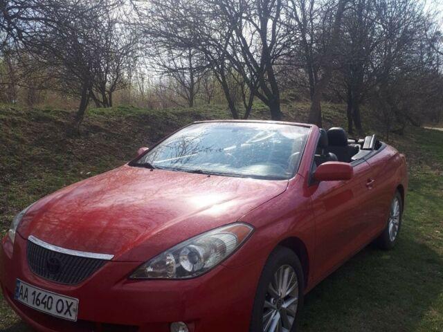 Красный Тойота Солара, объемом двигателя 3.3 л и пробегом 160 тыс. км за 8000 $, фото 1 на Automoto.ua